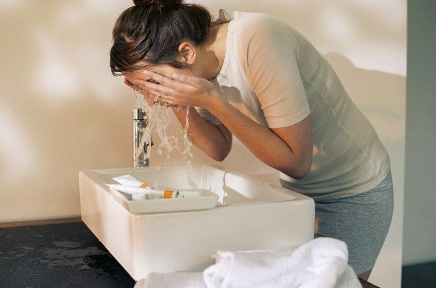 распарить лицо чистка