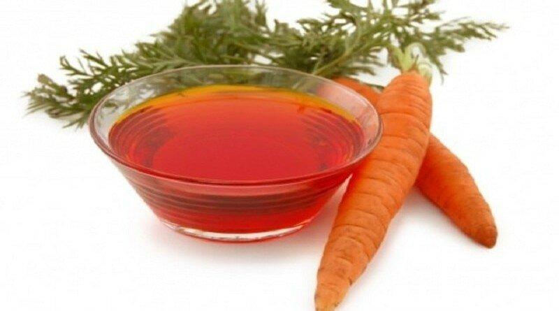 морковное масло для волос