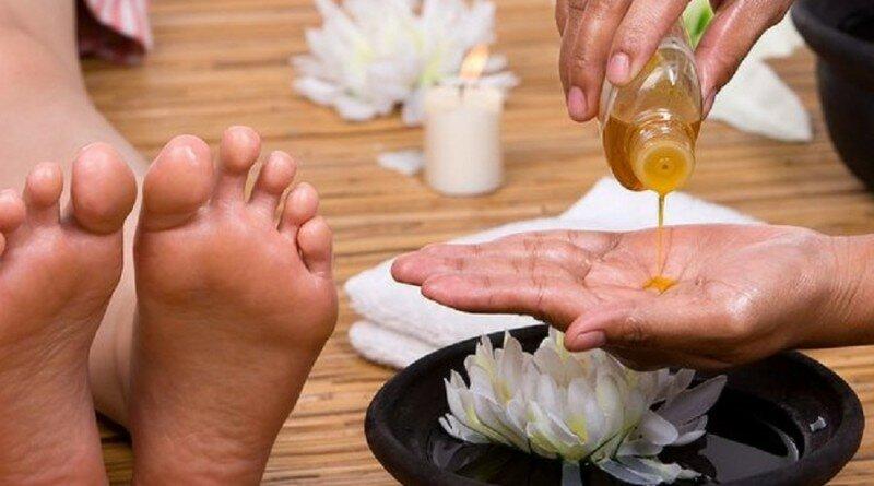 эфирные масла для ног