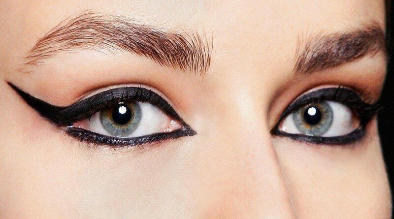 Рисование стрелок на глазах