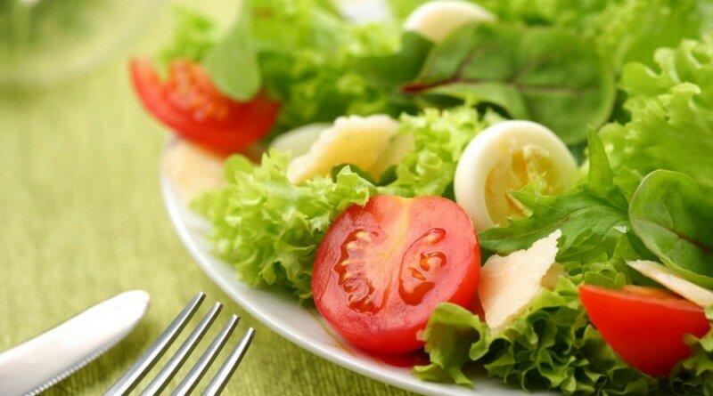 диета на салатах