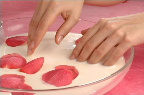 желатиновая ванночка для ногтей