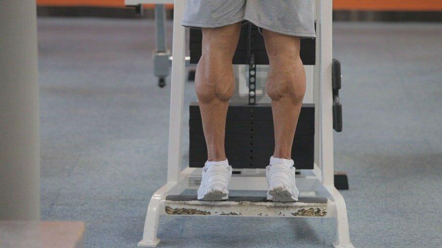 Упражнение для икр ног