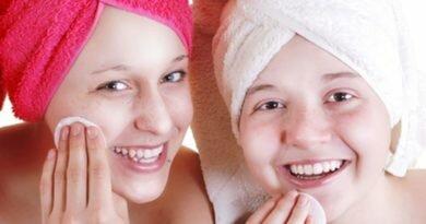 уход за кожей лица подростка